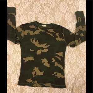Camouflage Thermal Top by Cherokee